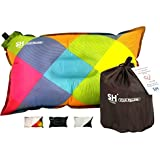 YOUR Pillow! by SHO - Ultimate Self Inflating Camping Pillow, Travel Pillow, Air Pillow, Inflatable Pillow & Festival Pillow - Lifetime Guarantee