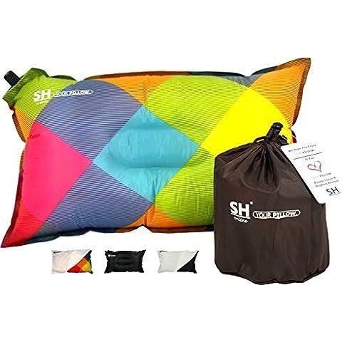 ¡YOUR Pillow Por SHO! – Estupendas Almohadas Auto Inflables Para Viajes, Campamentos Y Ferias - Garantía De Devolución Del