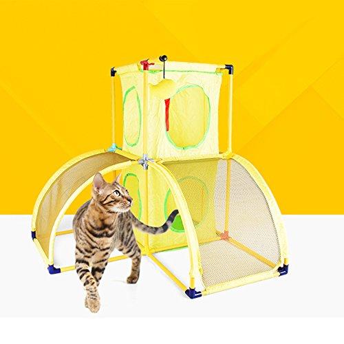 YAOBAO Pet Club Katzenbaum Möbel und Spielzeug (Barsch Baum Katze)