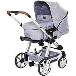 ABC Design Kombi-Kinderwagen Turbo 4 graphite grey inkl. Tragewanne 3in1