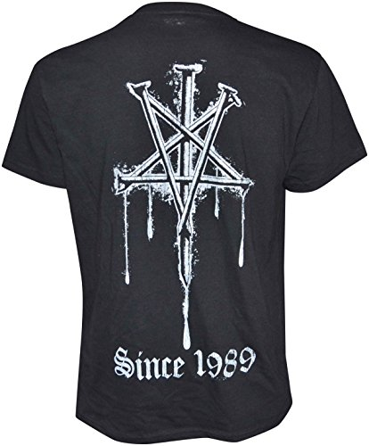 Rotting Christ Since 1989 Logo T-Shirt Schwarz