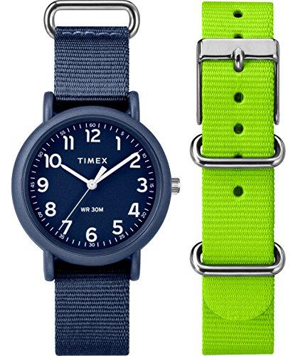 Timex Reloj Análogo clásico para Mujer de Cuarzo con Correa en Nailon TWG018400