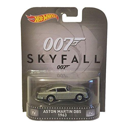 hotwheels james bond 007 skyfall silver aston martin DB5 1963 car 1.64 scale model by Hot Wheels