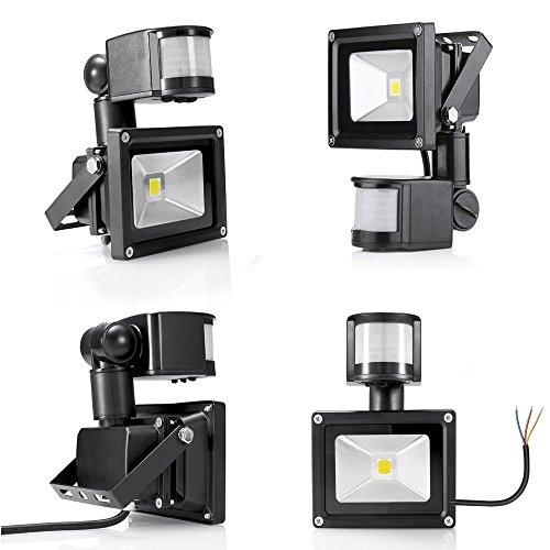GUO Outside LED Motion Sensor Fl...