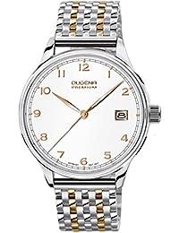 Dugena Herren-Armbanduhr XL Premium 2015 SIGMA Analog Quarz Edelstahl 7090253