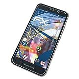 atFolix Schutzfolie kompatibel mit BlackBerry Aurora Panzerfolie, ultraklare & stoßdämpfende FX Folie (3X)