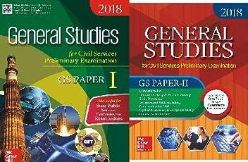 General Studies Paper 1 & 2 2018 TWO BOOK COMBO SET