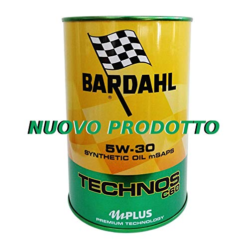 Olio motore auto Bardahl Technos C60 5W30 Polarplus ACEA C3 API SN-CF - 4 Lit