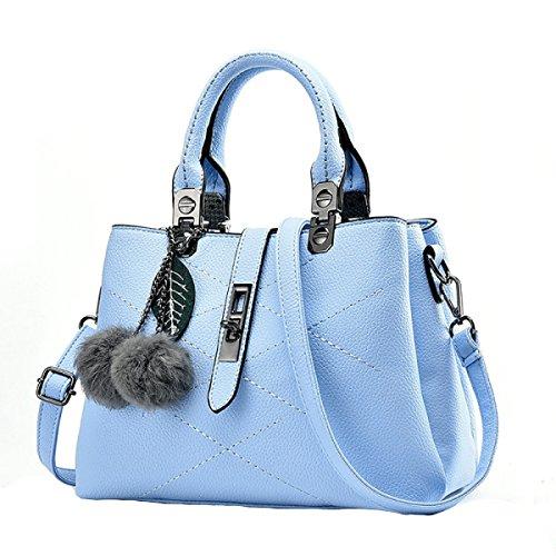 Adatti A Signore All'aperto Messenger Bag Multi-color Blue