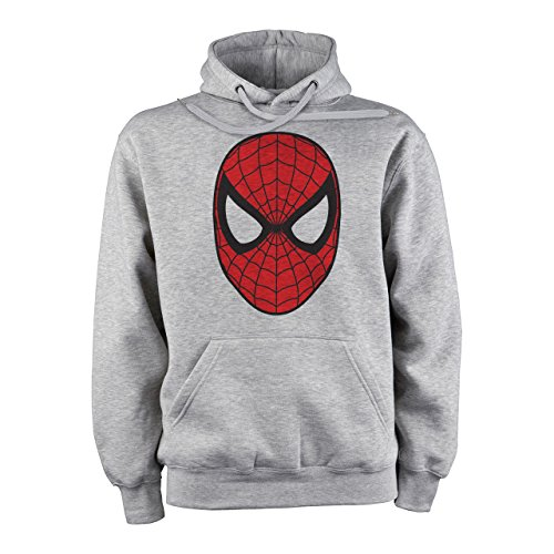 Spider Man Face Mask Original Logo Medium Unisex (Mask Spiderman With Hoodie)