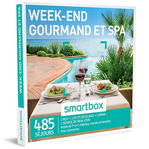 SMARTBOX - Coffret Cadeau homme femme couple - Week-end gourmand et spa - idée...