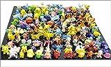 1 juego por Lotes 144pcs Pokemon Accišn Figuras 2-3cm