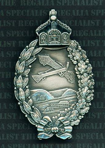 Imperial German WW1 Prussian Pilots Metal Breast Badge