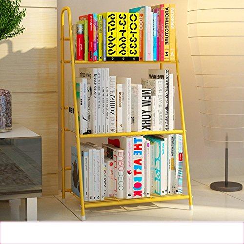 AJZGF Kreative Bücherregal Einfache Schreibtisch Regale Moderne Wohnzimmer Boden Regale Türrahmen Regal (größe : 3 layers) (3 Tür-bücherregal)