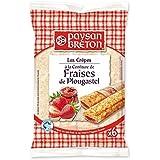 Paysan breton crêpes à la confiture de fraise de plougastel x6 180g - ( Prix Unitaire ) - Envoi Rapide Et Soignée
