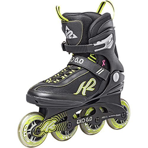 K2 Skates Damen 3050808.1.1 Inline Skate Exo 6.0 W black/green