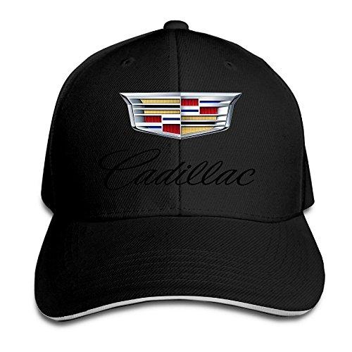yhsuk-cadillac-logo-sandwich-peaked-hat-cap-black