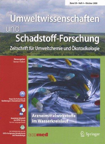Umweltwissenschaften und Schadstoff-Forschung [Jahresabo]