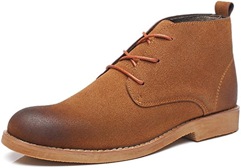Männer   casual mode stiefel chelsea boots Männer englisch wind jacket meter kurze stiefel Brown Raptors