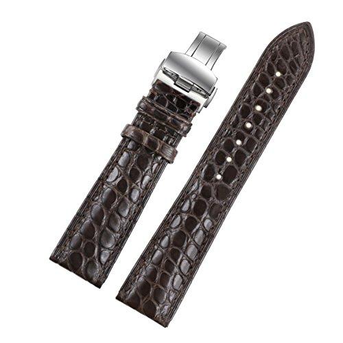 20mm-oscura-de-reemplazo-de-alta-gama-pulseras-para-relojes-de-piel-de-cocodrilo-marron-bandas-para-