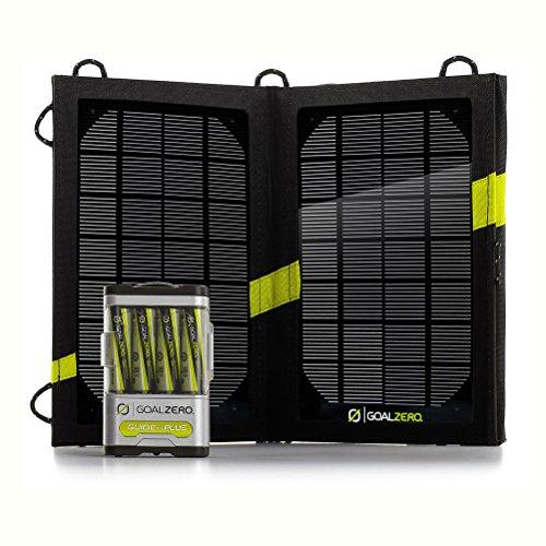 Preisvergleich Produktbild Goal Zero 41022 Guide 10 Plus Solar Recharging Kit by Goal Zero