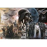 Star Wars Rogue One Maxi póster rebeldes vs Empire, multicolor