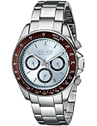 SO & CO New York Reloj 5010B.2 Plateado