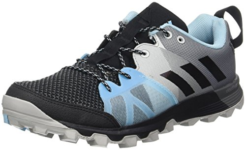 adidas Women's Kanadia 8.1 Tr Trail Running Shoes, Black (Core Black/Core Black/Icey Blue), 6 UK