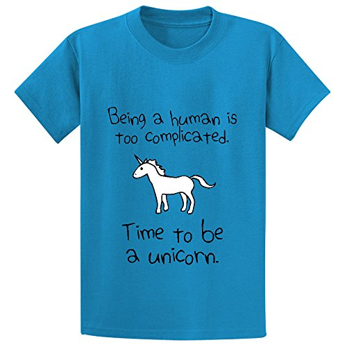 unicorn-time-to-be-a-unicorn-child-personalized-crew-neck-t-shirts-l-140
