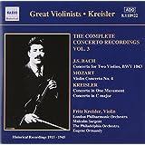 Fritz Kreisler - Intégrale Des Concertos /Vol.3