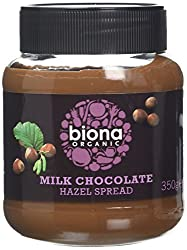 Biona Organic Chocolate Hazelnut Spread 350g (Pack Of 6)