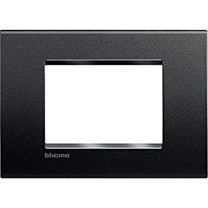 BTICINO Living Light Plaque Quadra 3P, LNA4803AR
