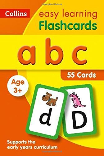 abc Flashcards: fun games and activity ideas for the alphabet (Collins Easy Learning Preschool)