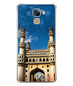 PrintVisa Designer Back Case Cover for Huawei Honor 7 :: Huawei Honor 7 (Enhanced Edition) :: Huawei Honor 7 Dual SIM (Historical Building Tourist Place India)