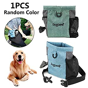 MondayUp Sac de dressage pour chien, sac de dressage pour chien, approvisionnements pour jouets pour chien, sac de poubelle pour friandise pour chien normal