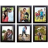 Khirki Memory Wall Photo Frame Set Classic Set Of 6 Individual Photo Frames 6 10 Inch X 12 Inch Photo Frames