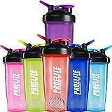 ProElite V3 Mixable Protein Shaker Bottle, 600 ml, Purple