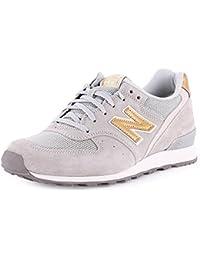 New Balance Grau Gold
