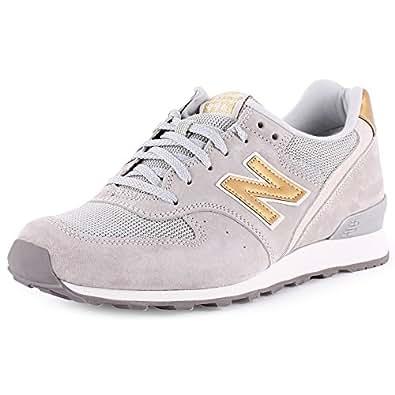New Balance New Balance 996 Womens Suede & Textile Trainers Grey - 43 EU
