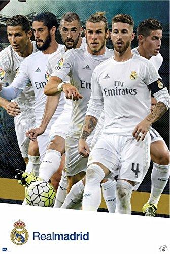 Grupo Erik Editores Real Madrid 2015/2016 Grupo Accion – Poster,