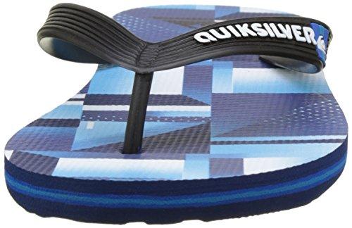 Quiksilver Molochkremix, Tongs Garçon Multicolore (BLUE/BLUE/BLACK)
