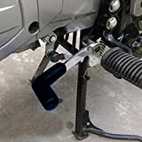 #6: Ramanta Rubber Motorcycle Gear Shifter Sock Boot and Shoes Protector Shift Cover for Yamaha YZF R15 V3 (Pack of 1) (Black, Medium Size)