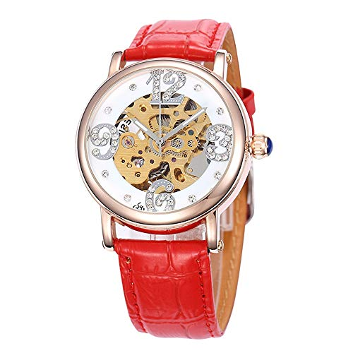 HWCOO Orologi meccanici Shenhua / 9352Z orologio meccanico automatico da donna (Color : 6)