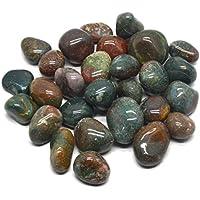 Heilung Kristalle Indien 1/0,9kg natur Blood Stone Tumble mit gratis eBook über Crystal Healing (Blood Stone) preisvergleich bei billige-tabletten.eu