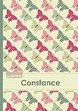 Le carnet de Constance - Lignes, 96p, A5 - Papillons Vintage