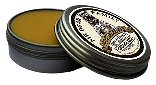 Mr. Bear Family Moustache Wax - Woodland 30ml