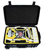 DJI Phantom 3 Professional Advanced Standard 4k Pro Travel Case Quadcopter Drones Carrying Rolling Travel Case with Wheels by Procraft <span at amazon