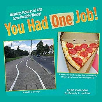 You Had One Job 2020 Calendar