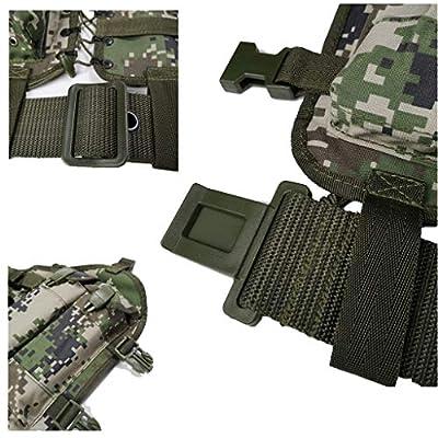 GRZP Tarnen Sie Taktische Weste, einzelne Soldatentrageausrüstung-Meer-und Luftwaffe, die Kampf-Weste 95-Kugel-Beutel-Außentrainings-Spezialeinheiten trägt
