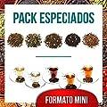 Aromas de Té - Mini pack contient du thé vert épicé Arcoiris + Pu Erh thé rouge saveurs de l'Orient + Noir + blanc pakistanais Thé Pai Mu Tan Nuits Blanches + Infusion Rooibos Chai